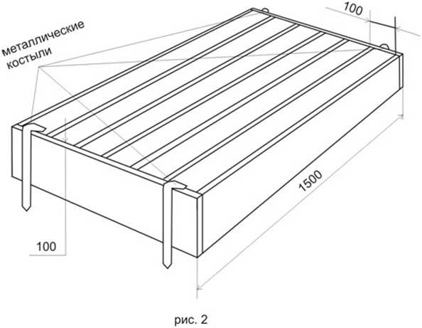 Форма для отливки пассынков