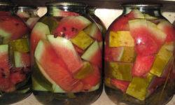 Маринованные (соленые) арбузы на зиму